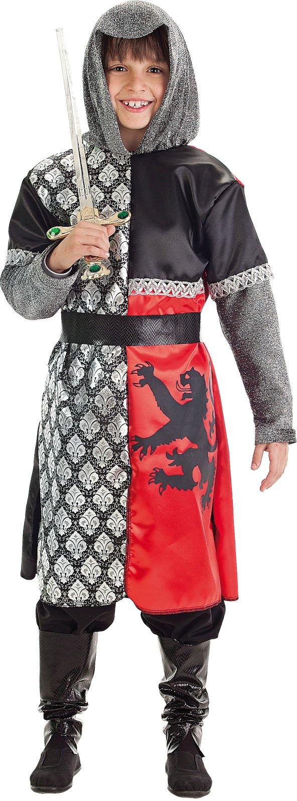 Disfraz de caballero león talla 4 (9-11 años)