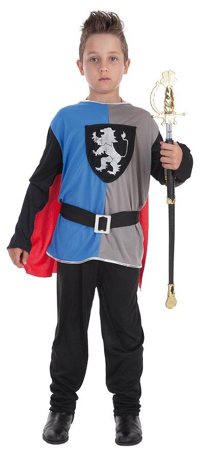 Disfraz de caballero medieval talla M (7-9 años)
