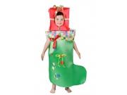 comprar Disfraz de calcetín de Navidad talla 1 (3-5 años)