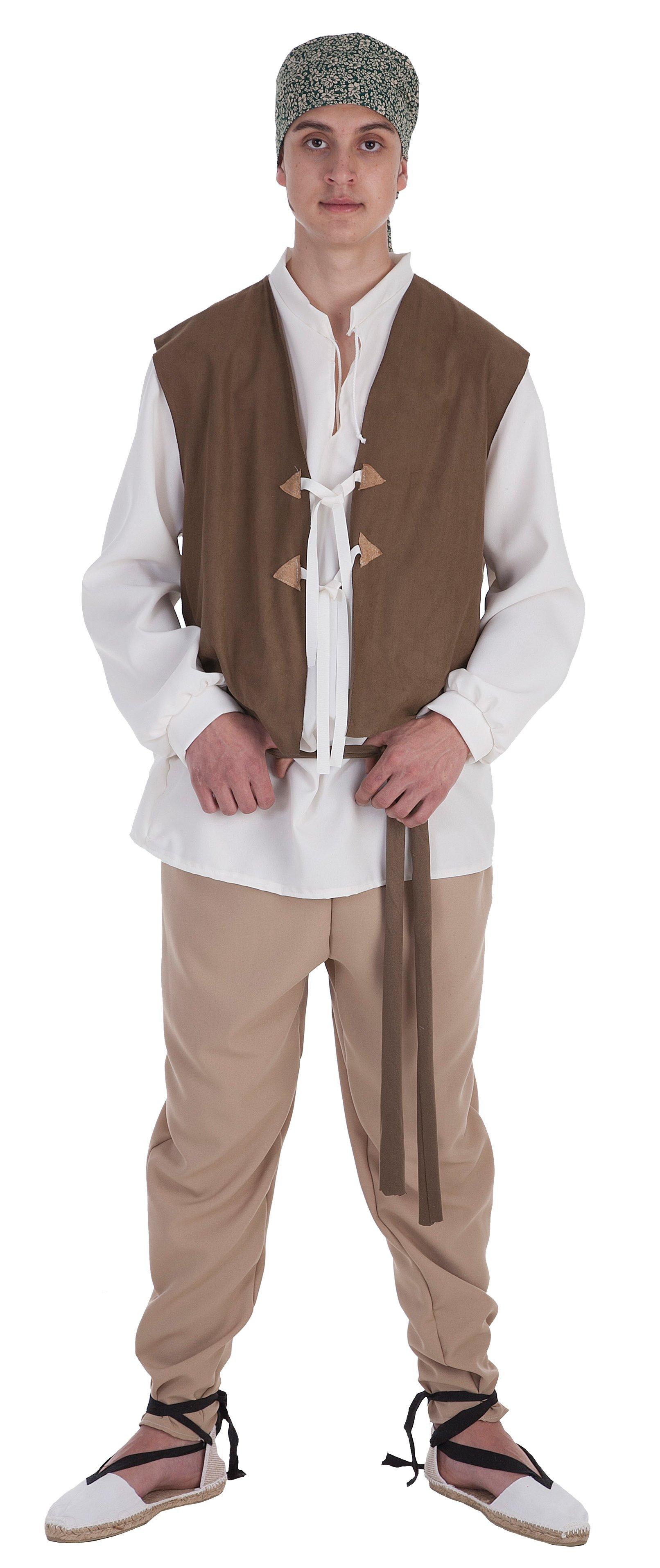 Disfraz de campesino Mario adulto
