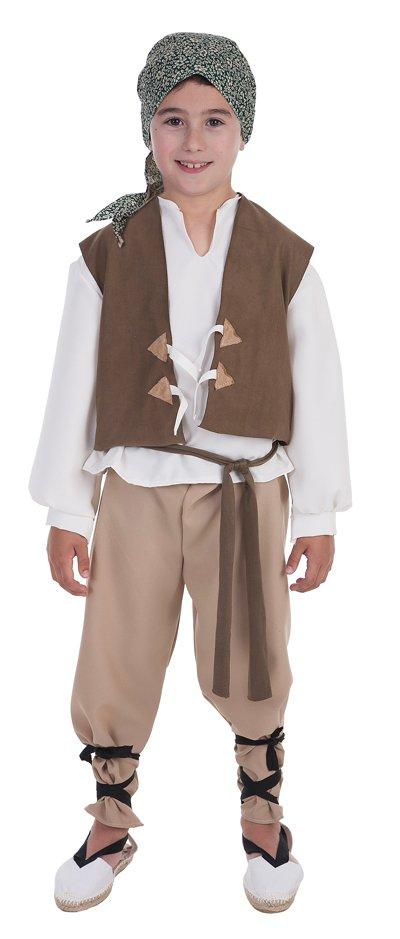 Disfraz de campesino Mario talla 4 (9-11 años)