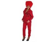 comprar Disfraz de currante rojo adulto talla XL