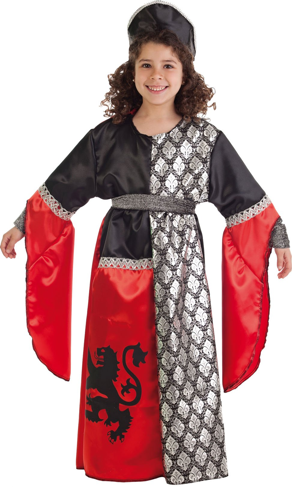 Disfraz de dama león talla 5 (11-13 años)