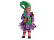 Disfraz de duendecilla verde 18 meses