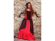 comprar Disfraz de falda con corpiño gotica maruxa Talla M