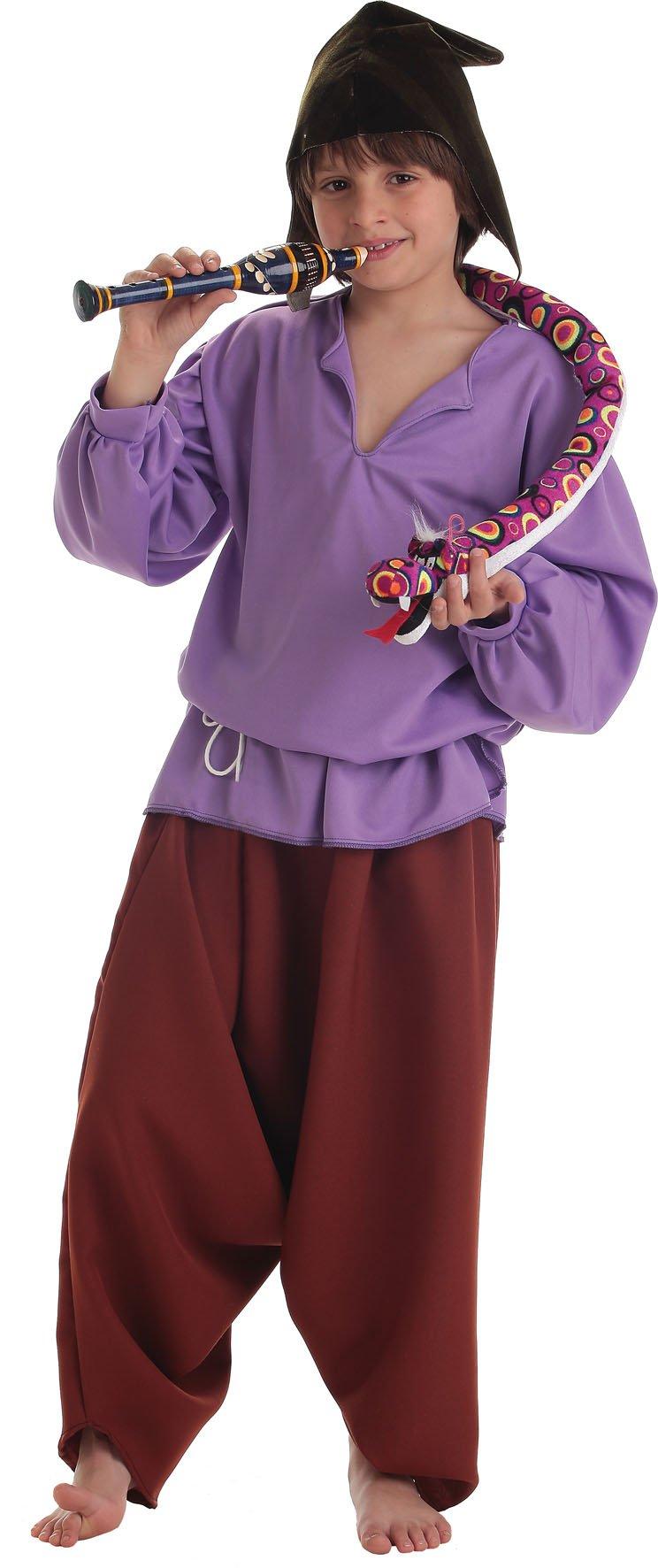 Disfraz de flautista medieval talla 5 (11-13 años)