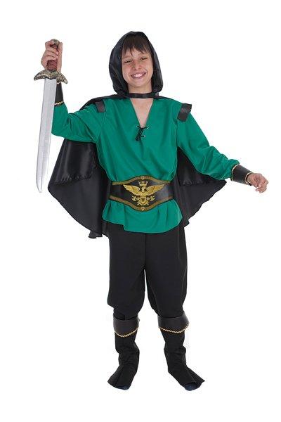 Disfraz de guerrero talla 4 (9-11 años)