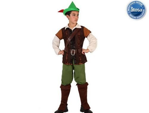 comprar Disfraz de niño de los bosques talla 2