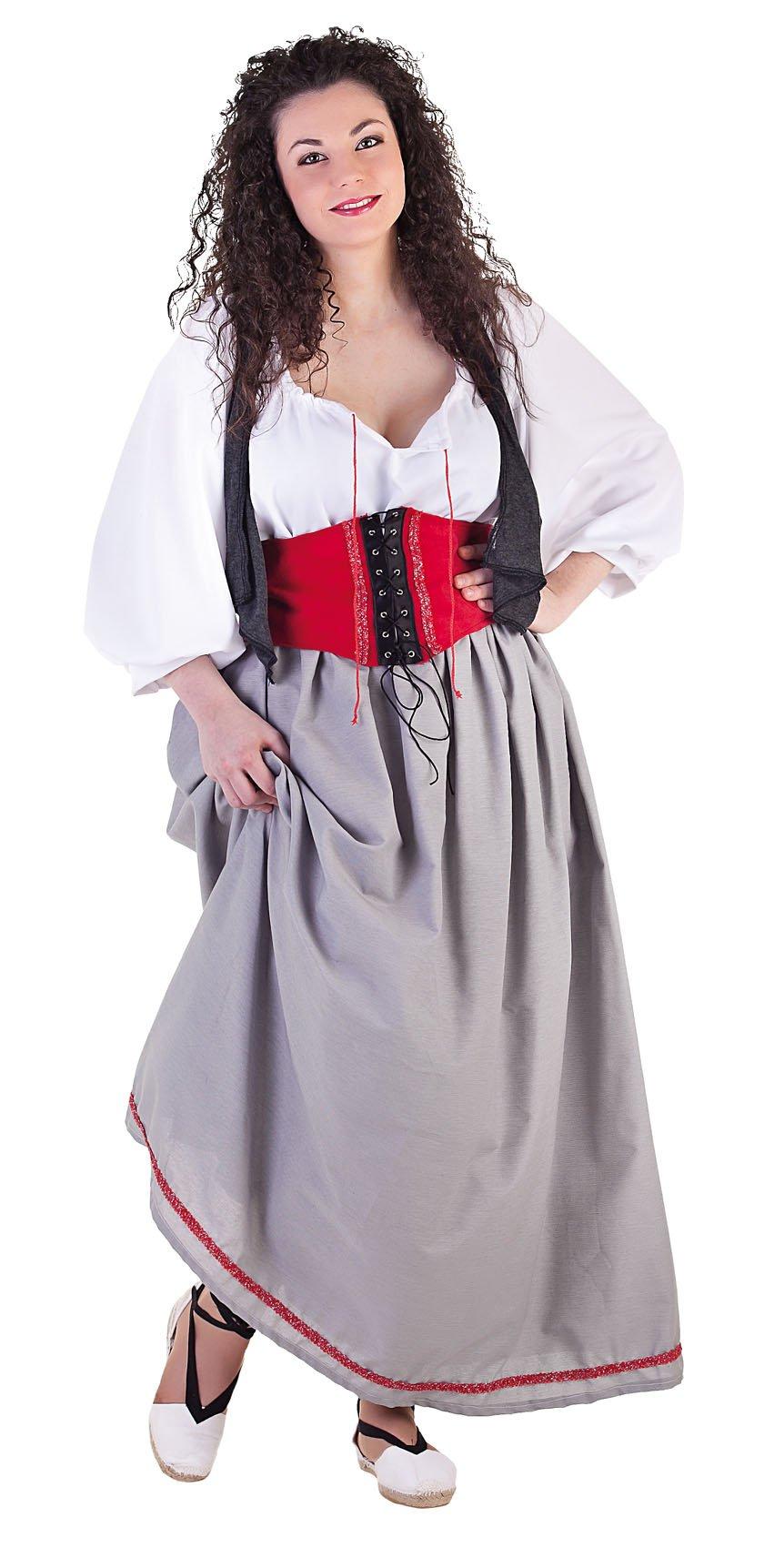 Disfraz de hortelana mujer
