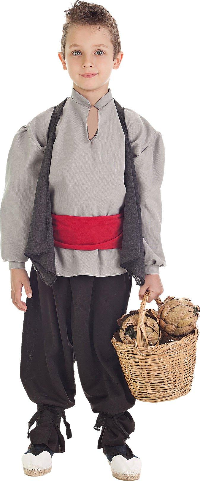 Disfraz de hortelano talla 5 (11-13 años)