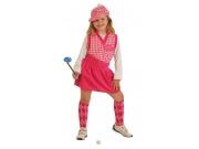 comprar Disfraz de jugadora de golf talla 5 (11-13 años)