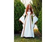 Disfraz de medieval beige elenea Talla L