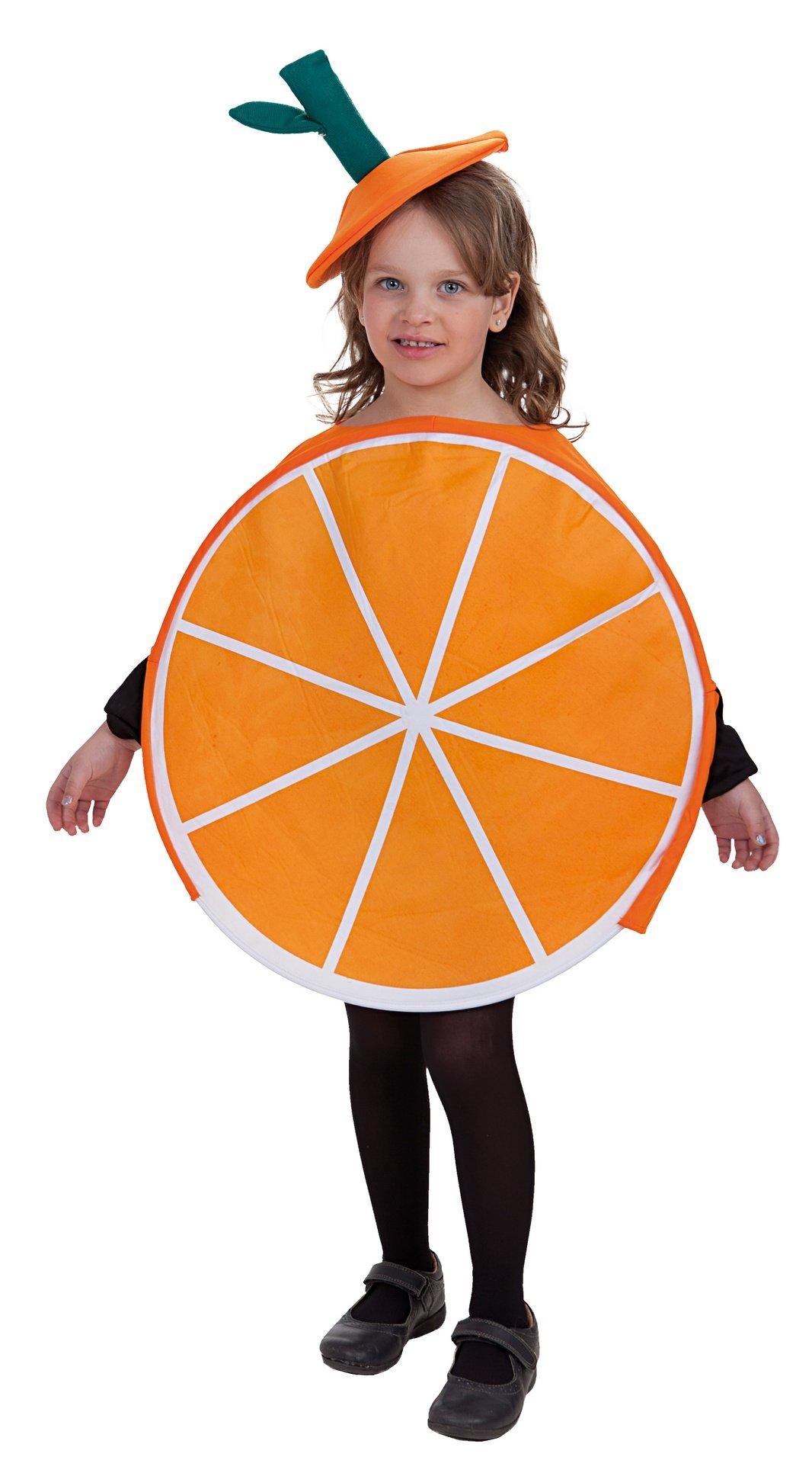Disfraz de naranja talla L (10-12 años)