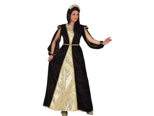 Disfraz de princesa medieval Talla 2 (M-L)