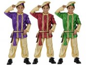 comprar Disfraz de paje verde talla 2 (5-6 años)