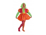comprar Disfraz de payasa risitas talla 2 (5-7 a�os)
