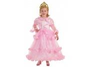 Disfraz de princesa bucles talla S (4-6 a�os)