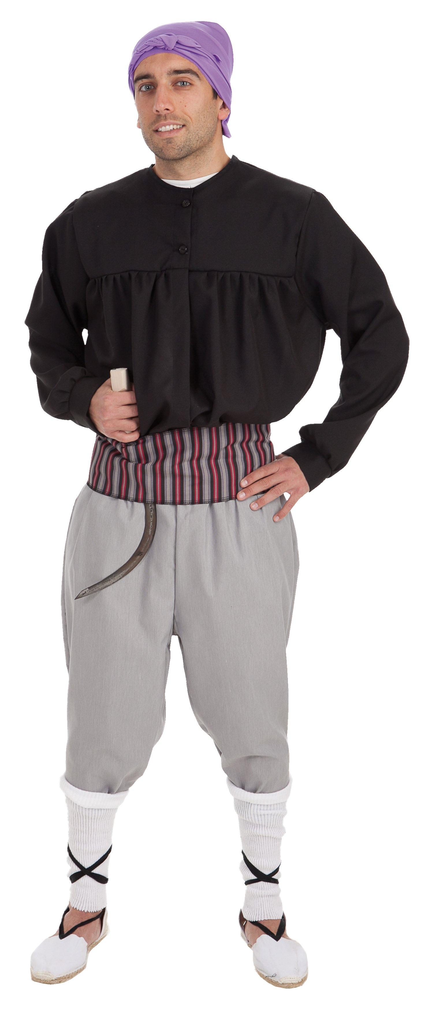 Disfraz de segador adulto