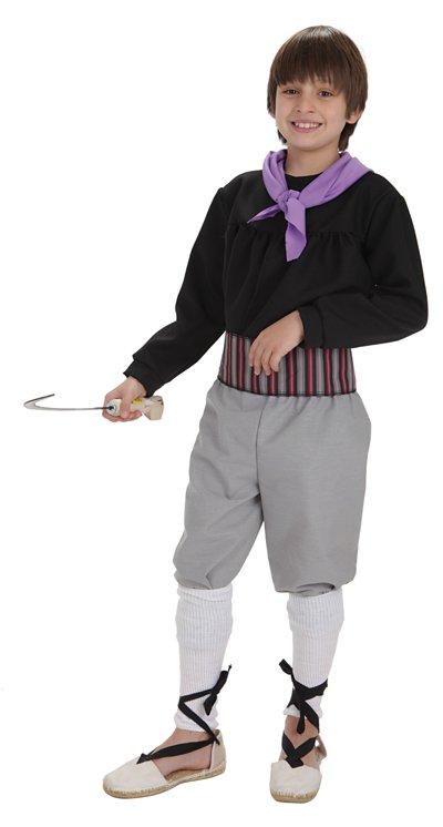 Disfraz de segador niño talla 2 (5-7 años)