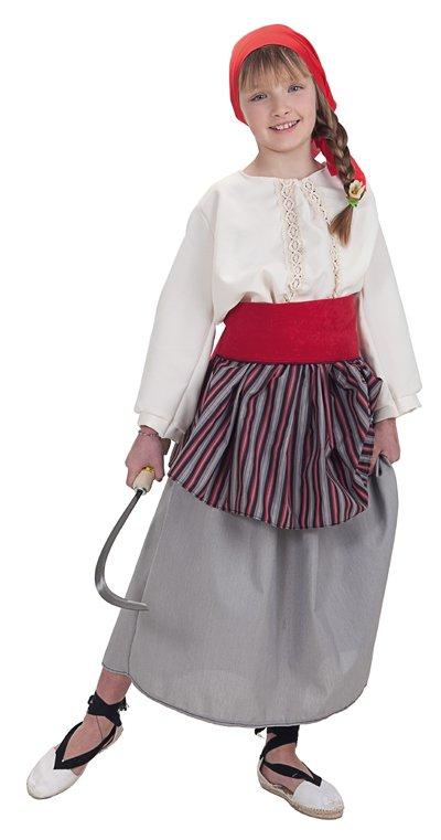 Disfraz de segadora talla 3 (7-9 años)