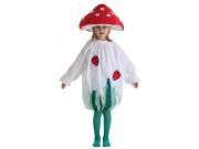 comprar Disfraz de seta infantil talla 5 (11-13 años) Sin sombrero