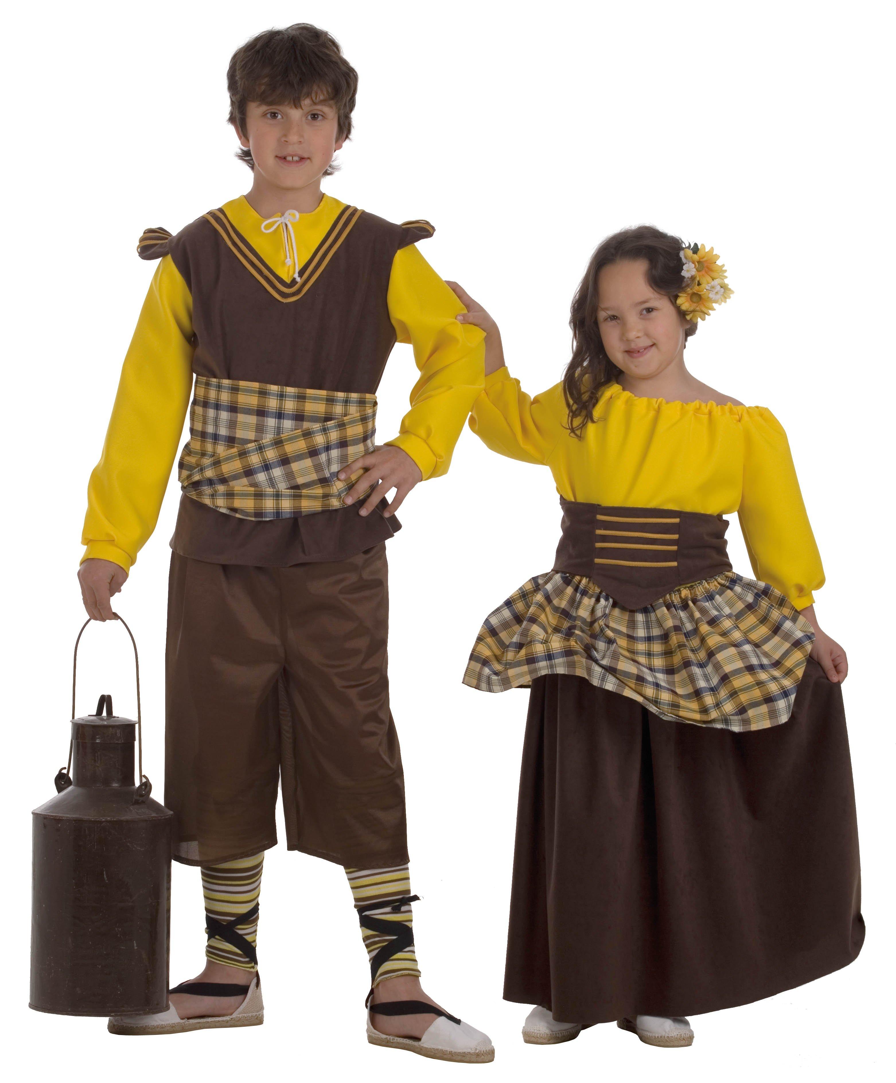 Disfraz infantil de Posadera Talla 1 (3-5 años)