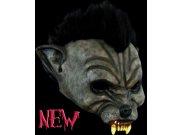 comprar Máscara media cara de hombre lobo