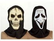 comprar Máscara pvc halloween blanca