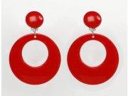 comprar Pendientes sevillana diam5cms 3colores (blanco)