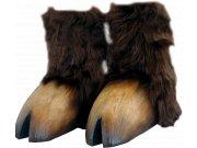 comprar Pezuñas de minotauro o tauren marrón oscuro