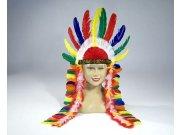 comprar Plumas de jefe indio multicolor