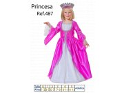 comprar Disfraz de Princesa Fucsia talla 7 a 9 años