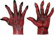 comprar Complemento Evil hands red