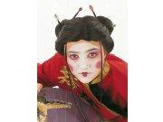 comprar accesorio peluca geisha mechones Talla única