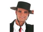 comprar sombrero cordobes fieltro negro Talla única