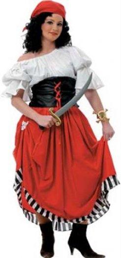 Disfraz de Pirata Mujer 26 €