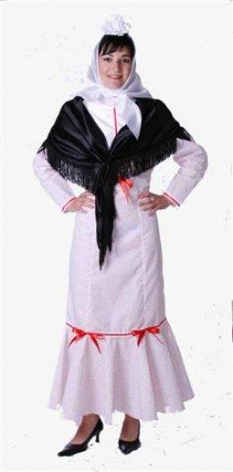 Disfraz de Madrileña adulta