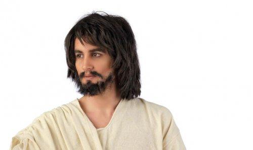 peluca jesucristo corta Talla única