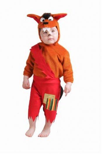 Disfraz de Lobito 18 meses