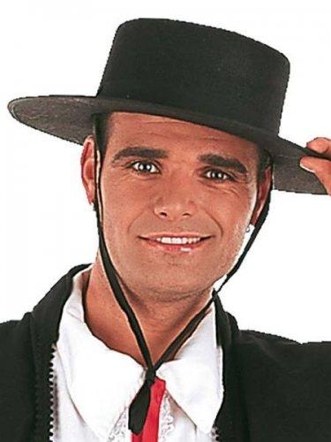 sombrero cordobes fieltro negro Talla única
