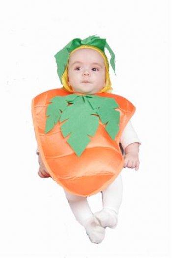 Disfraz de Zanahoria (babero 6 meses) 12 €