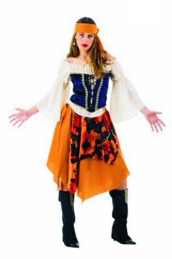 Disfraz de Pirata Malvada deluxe