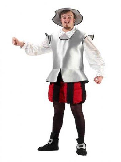 Disfraz de Don Quijote, adulto.