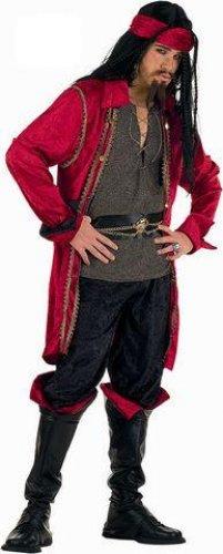 Disfraz de Pirata Corsario Valorius deluxe