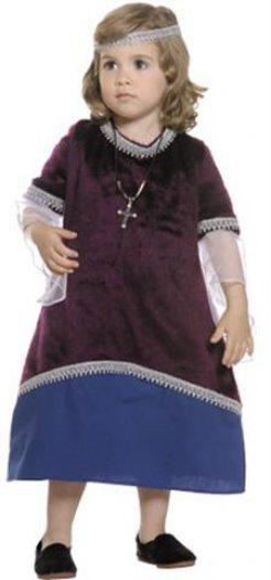 Disfraz de reina Medieval bebé niña 21 €