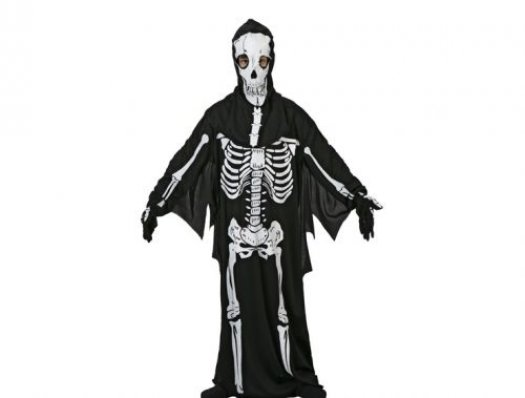 Disfraz de esqueleto adulto adulto